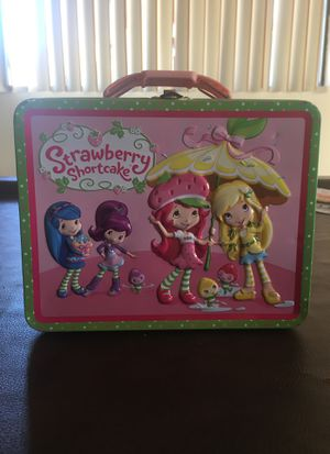 Strawberry Shortcake vintage lunchbox for Sale in Murrieta, CA