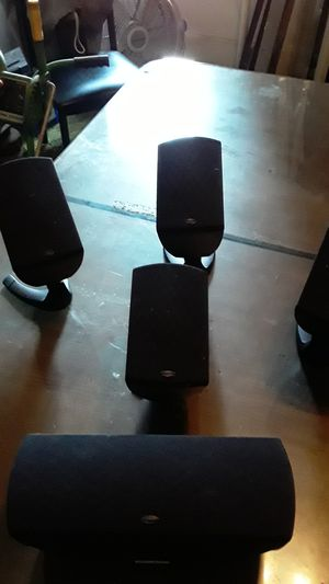 Klipsch surround sound speakers for Sale in Florence Township, NJ