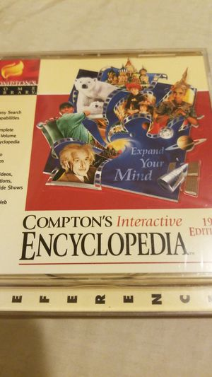 Compton's Interactive Encyclopedia 1998 for Sale in Port Richey, FL