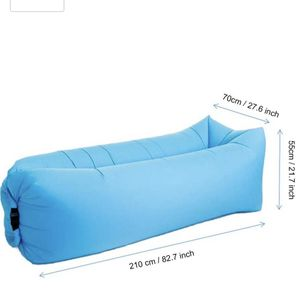 2 Inflatable Lounger Air Chair Sofa Bed Sleeping Bag Couch for Beach for Sale in Los Angeles, CA