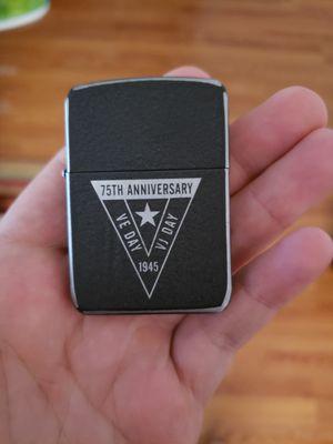 Zippo 75th Anniversary of WW2 Zippo for Sale in Escondido, CA