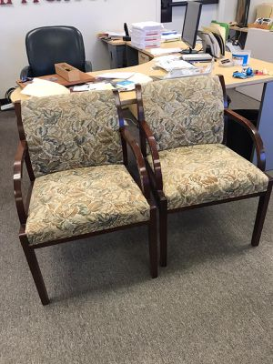 Cushioned desk chairs (4) for Sale in Burlingame, CA
