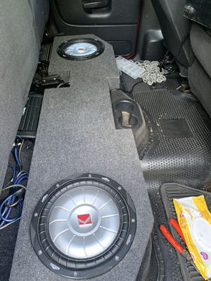 Ram 2002 up sub and amp kicker for Sale in Rockville, MD