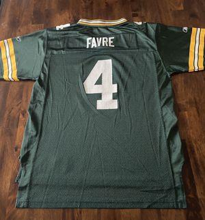 NFL Reebok Jersey Green Bay Packers #4 Brett Favre for Sale in Arlington, VA