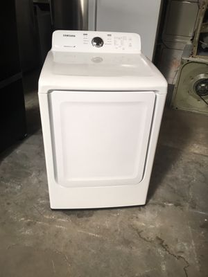 Electric dryer brand Samsung everything is good working condition 90 days warranty delivery and installation for Sale in San Leandro, CA