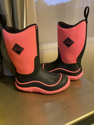 Girls Muck Rain boots size 1 US for Sale in Chino, CA