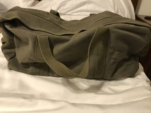 Canvas Forest Green Small Duffel Bag for Sale in Medford, NJ