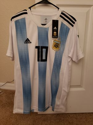 Messi Argentina Jersey Size Medium for Sale in Tampa, FL