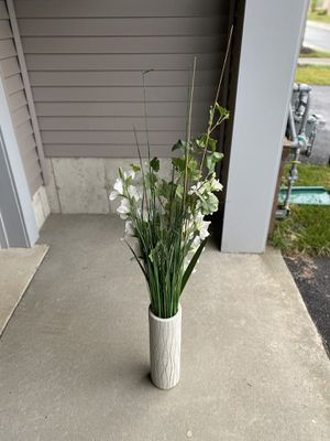 Ceramic Flower Vase for Sale in Ashburn, VA