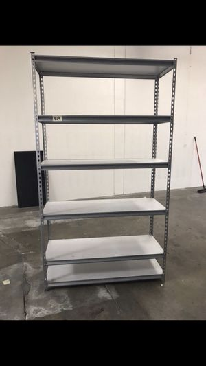 Warehouse Storage Racks 4ft wide x 7ft tall x 18in deep. Carson for Sale in Carson, CA
