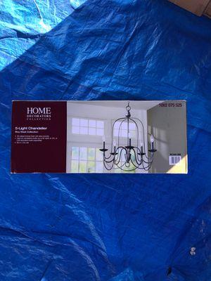 Home decorators 5 light chandelier for Sale in San Diego, CA