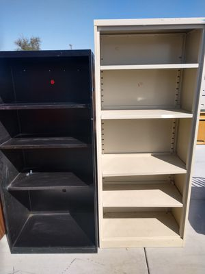 Tall Metal Bookshelves Book cases for Sale in Hesperia, CA
