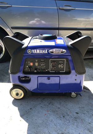 GREAT DEAL! Yamaha EF3000iS Inverter for Sale in Nipomo, CA