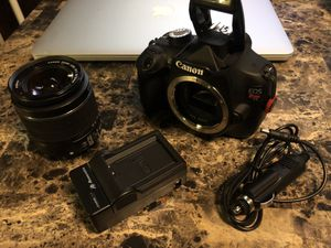 Canon Rebel T5 DSLR Trade Or Sell for Sale in Detroit, MI