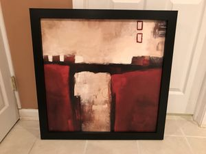 Large framed abstract wall art for Sale in Chicago, IL
