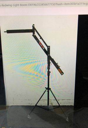 Redwing light boom & Calumet Manfrotto stand for Sale in Long Beach, CA