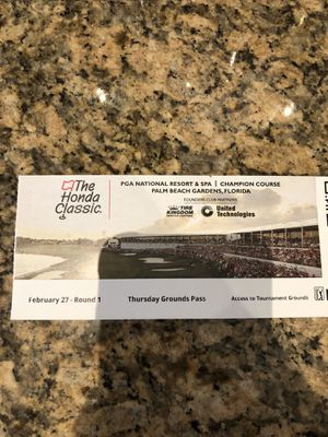 Honda classic tickets for Sale in Jupiter, FL