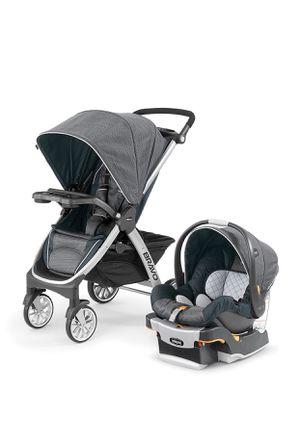 Chicco Bravo travel system stroller, poetic for Sale in Avondale, AZ