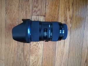 Sigma 18-35mm f1.8 for Sony (A-mount) for Sale in Waltham, MA