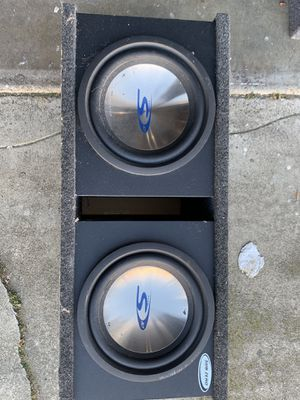 """Alpine type s 10"""" subwoofers. for Sale in Daly City, CA"""
