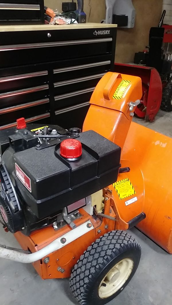 Snow blower and small engine repair