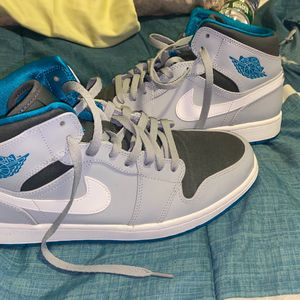deadstock Air Jordan 1 Size 11 Blue And Grey for Sale in Barrington, RI