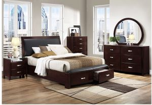 4 piece bedroom set mirror not included for Sale in San Leandro, CA