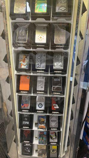 ZIPPO LIGHTERS (Qs Smoke Shop) for Sale in Lynnwood, WA