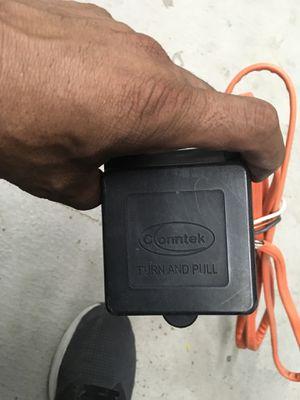 Conntek weatherproof rv male plug camper 5th wheel for Sale in San Jacinto, CA