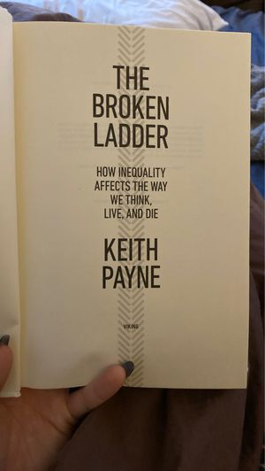 The Broken Ladder by Keith Payne - ISBN # 9780525429814 for Sale in San Diego, CA