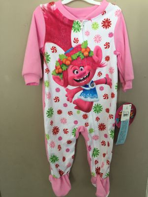 Trolls toddler pajama for Sale in Aurora, CO