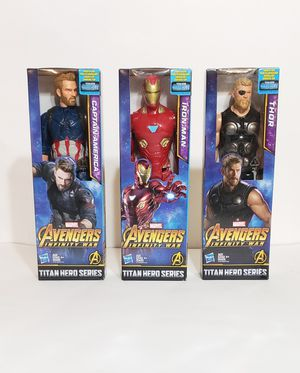 Titan Hero Series Avenger Infinity War Action Figures for Sale in Maplewood, MN
