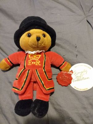 Keels Simply Soft Collection Bears of The United Kingdom Beefeaters Plush Teddy Bear for Sale in Greenville, SC
