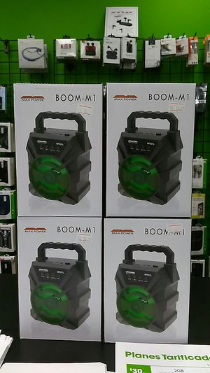 Brand New Boom M1 Bluetooth Speaker! for Sale in Knoxville, TN