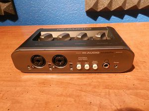M audio USB interface with pro tools 12 hd for Sale in McDonough, GA
