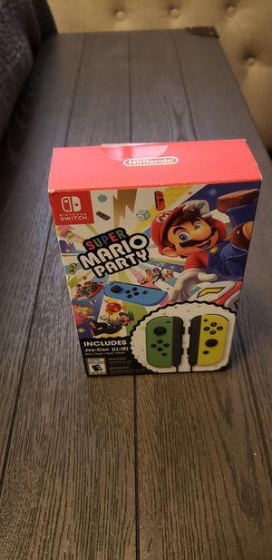 Mario Party/Joy-Con Bundle for Sale in San Antonio, TX
