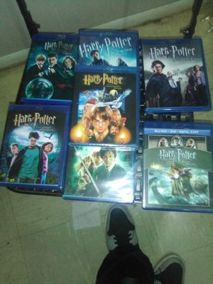 Full Blu Ray collect of HARRY POTTER for Sale in Bothell, WA