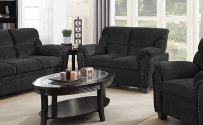 Clementine Grey Sofa Set for Sale in Grand Prairie,  TX