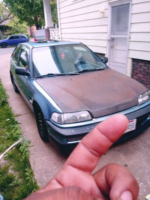 Honda civic 1991 manual 5speed for Sale in Cleveland, OH