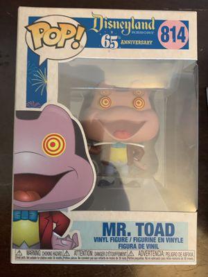 Mr. Toad Funko Pop Disney 65th anniversary for Sale in Fremont, CA