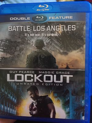 The movie -Battle: Los Angeles and Lockout for Sale in Richmond, VA