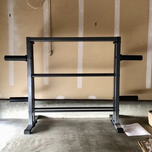 Combo Weight Storage Rack (rack Only) for Sale in Richmond, CA