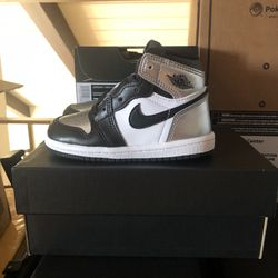 Jordan 1 Retro High Silver Toe for Sale in Long Beach,  CA