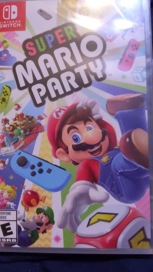 Nintendo switch Mario Party for Sale in Murrieta, CA