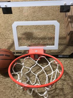 Durable Indoor Basketball Hoop/ Ball for Sale in Burien,  WA