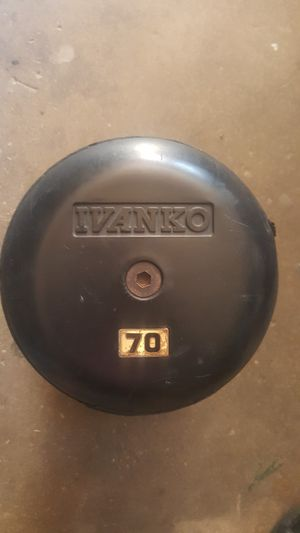 Dumbbell 70lb Weight for Sale in Santa Maria, CA