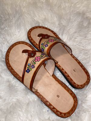 Mexican sandals $20 for Sale in DeSoto, TX