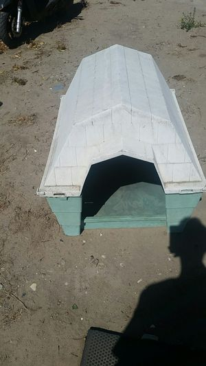 Dog house plastic for Sale in Lathrop, CA