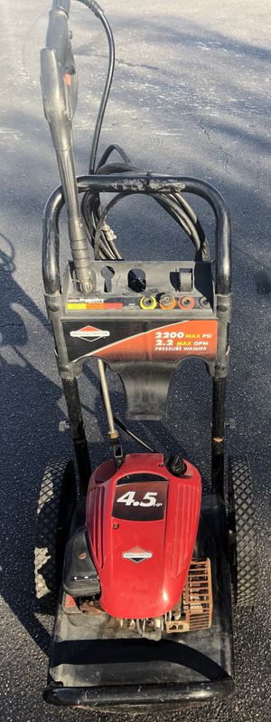 Briggs & Stratton 1.9 GPM - 2200 PSI Gas Pressure Washer - 020228 for Sale in Azalea Park, FL