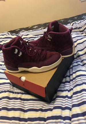 Jordan 12 Bordeux size 9 for Sale in Washington, MD